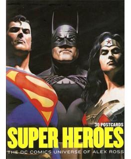 30 cartes postales DC comics par Alex Ross