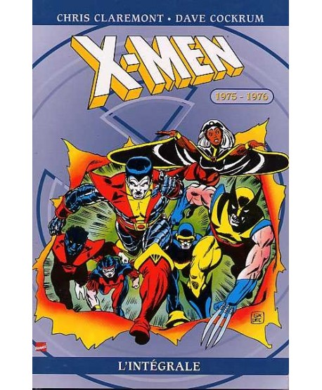 Intégrale X-men 1975-1976