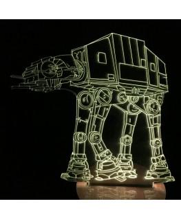 Marcheur impérial - Star Wars - Lampe 3D USB