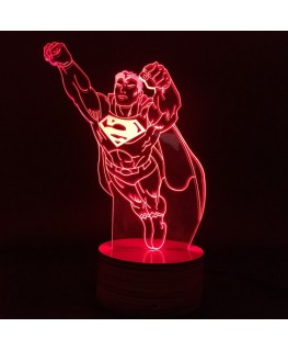 Superman- Lampe 3D USB DC Comics