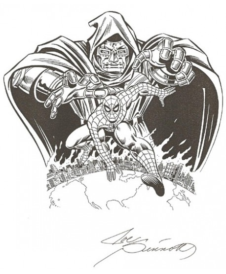 Dr Fatalis - Joe Sinnott