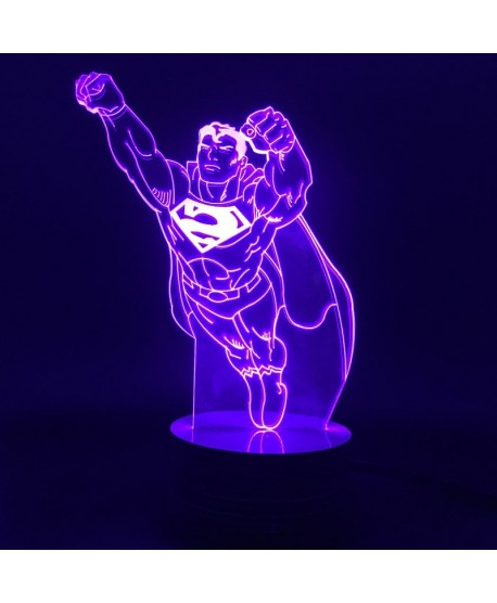 Superman- Lampe 3D USB DC Comics