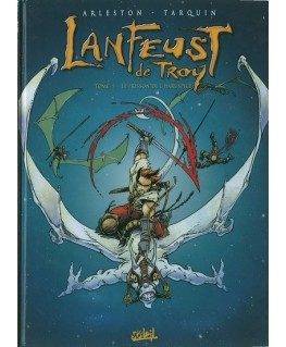 Lanfeust t5 - Le frisson de l'haruspice - édition originale