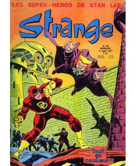 Strange 20 poster signé John Romita et Version US
