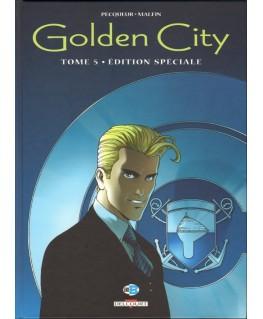 Golden City - Le dossier Harrison - édition originale N&B 5500ex