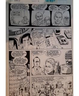 ROBOCOP Planche Originale -- Lee Sullivan N°3 page 9