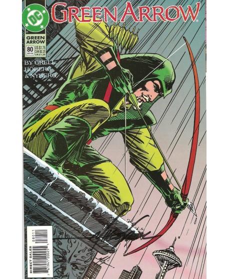 Green Arrow 80 - Signé par Mike Grell