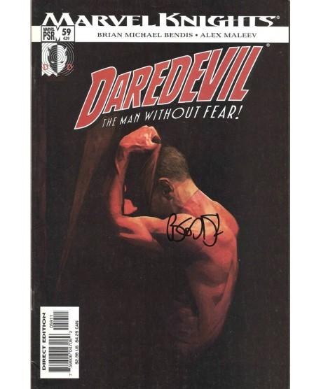 Daredevil - Brian M. BENDIS - EO U.S Signé