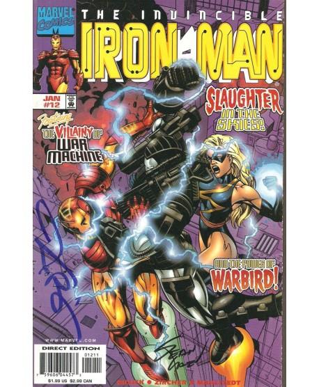 Iron-Man 12 - signé par Sean Chen