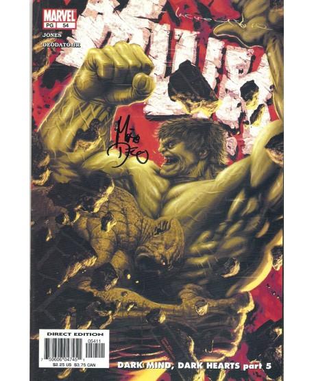Hulk - Mike Deodato US Signé