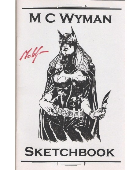 Sketchbook - M C Wyman - signé