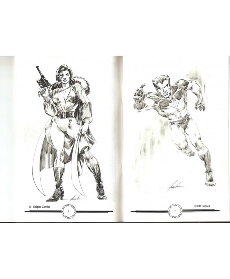 Sketchbook - Mike Grell - Signé