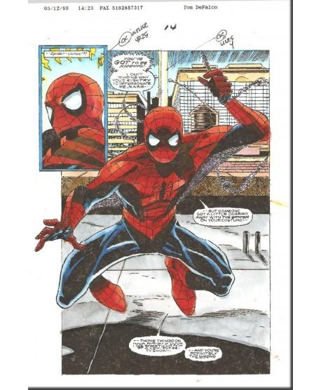 Spider-Girl 10 p 14 Splash Spider-Man