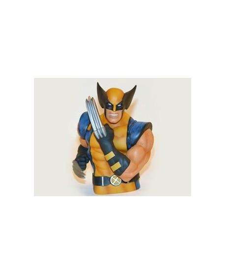 Tirelire buste Wolverine