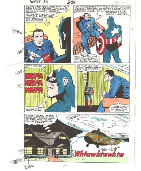 Captain America 331 page 10