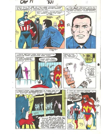 Captain America 331 page 24