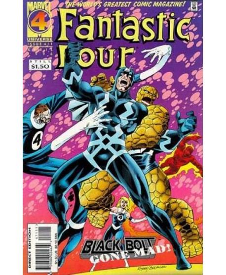 Fantastic Four 411 page 1